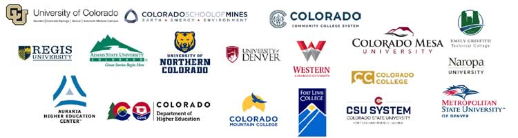 Logos of Colleges and Universities on DACA