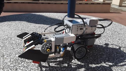 Mars Rover built by Dryden's team