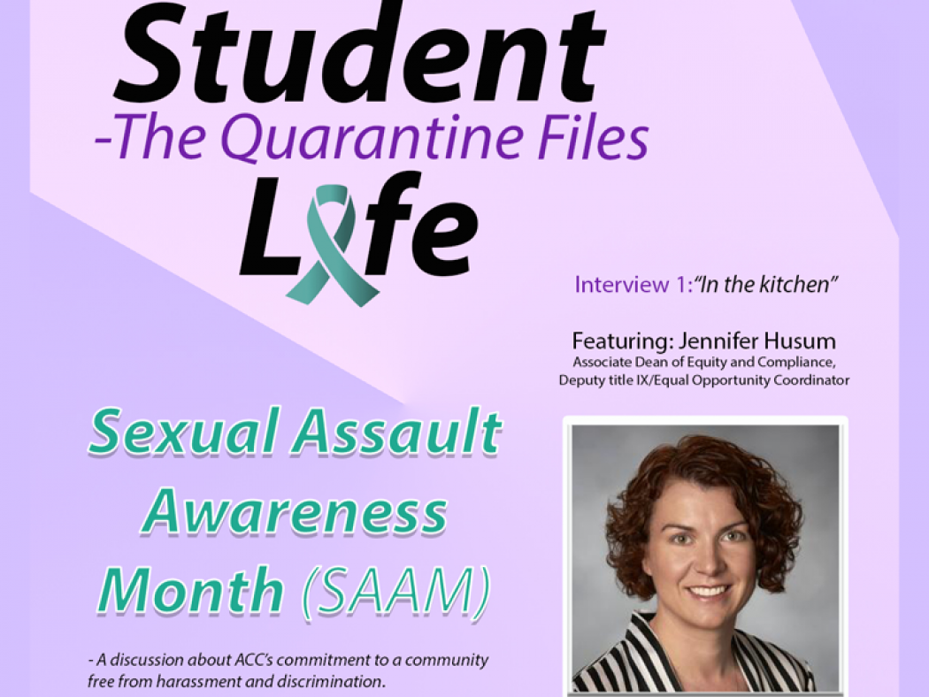 Sexual Assault Awareness Month graphic