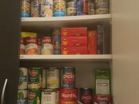 ACC Littleton Campus Food Pantry cabinet
