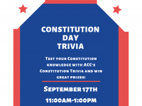 Constitution Day Trivia - September 17 - 11am-1pm at all ACC campuses