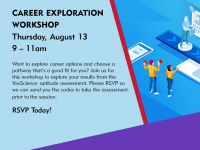 Career Exploration event flyer