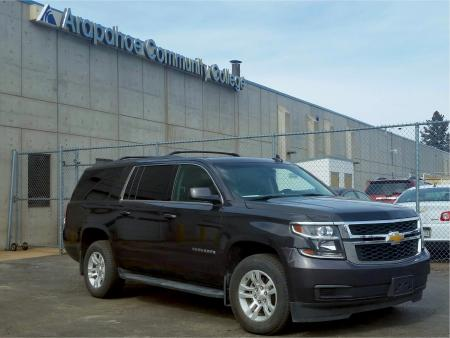 Black 2017 Chevy Suburban