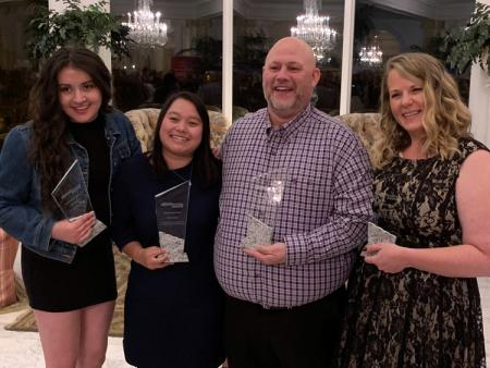 Reyes, Yeung, Lesniak, and Rice at Colorado Apprenticeship Awards