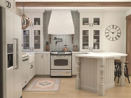 Kitchen Design View 1