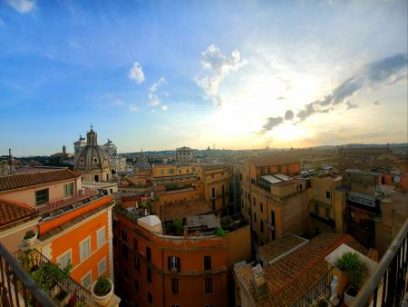 Room with a View or Roof Top (Italy, ACC Study Abroad Program)