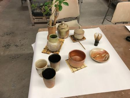 Cindy Howe - tea ceremony project - Japan 2018