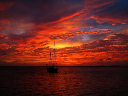 Rob McIntosh - Bonaire Sunset
