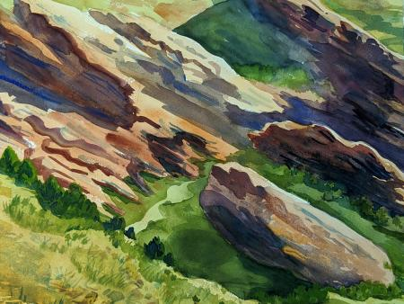 Margaret Gadway - Red Rocks