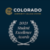 Colorado Community College System - 2021 Student Excellence Awards (logo)