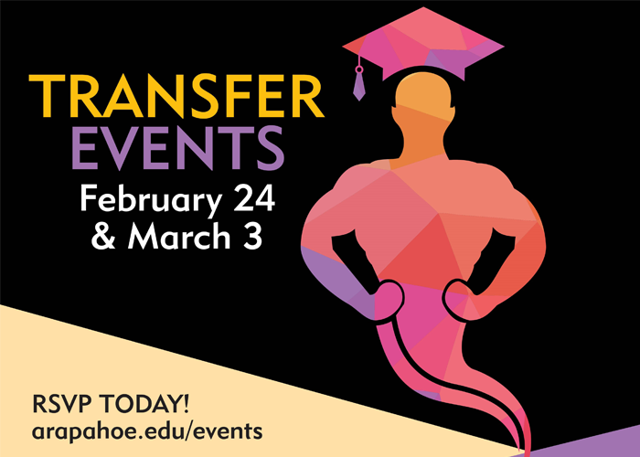 Transfer Events - February 24 and March 3 - RSVP Today!