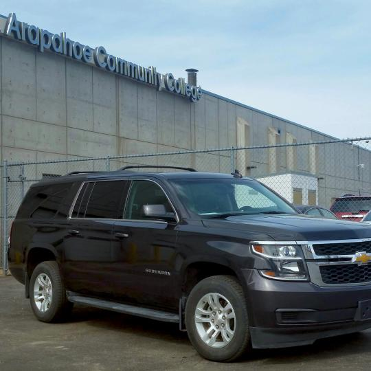 2017 Chevy Suburban at ACC Auto Tech Shop