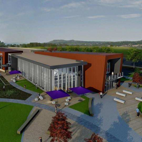Sturm Collaboration Campus Rendering