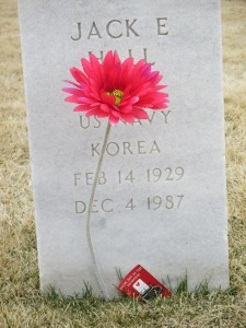 Military Grave at Fort Logan National Cemetery
