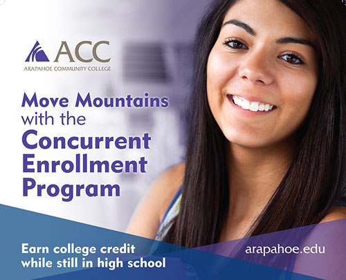 Move Mountains with the Concurrent Enrollment Program!
