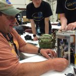 Chris Littlefield working on payload