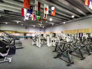 ACC Fitness Center cardio and weight machines